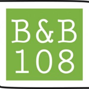 Logo bed & breakfast 108 vlak bij Kinderdijk