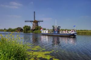 kinderdijk molen rondvaartboot