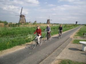 fietsen kinderdijk
